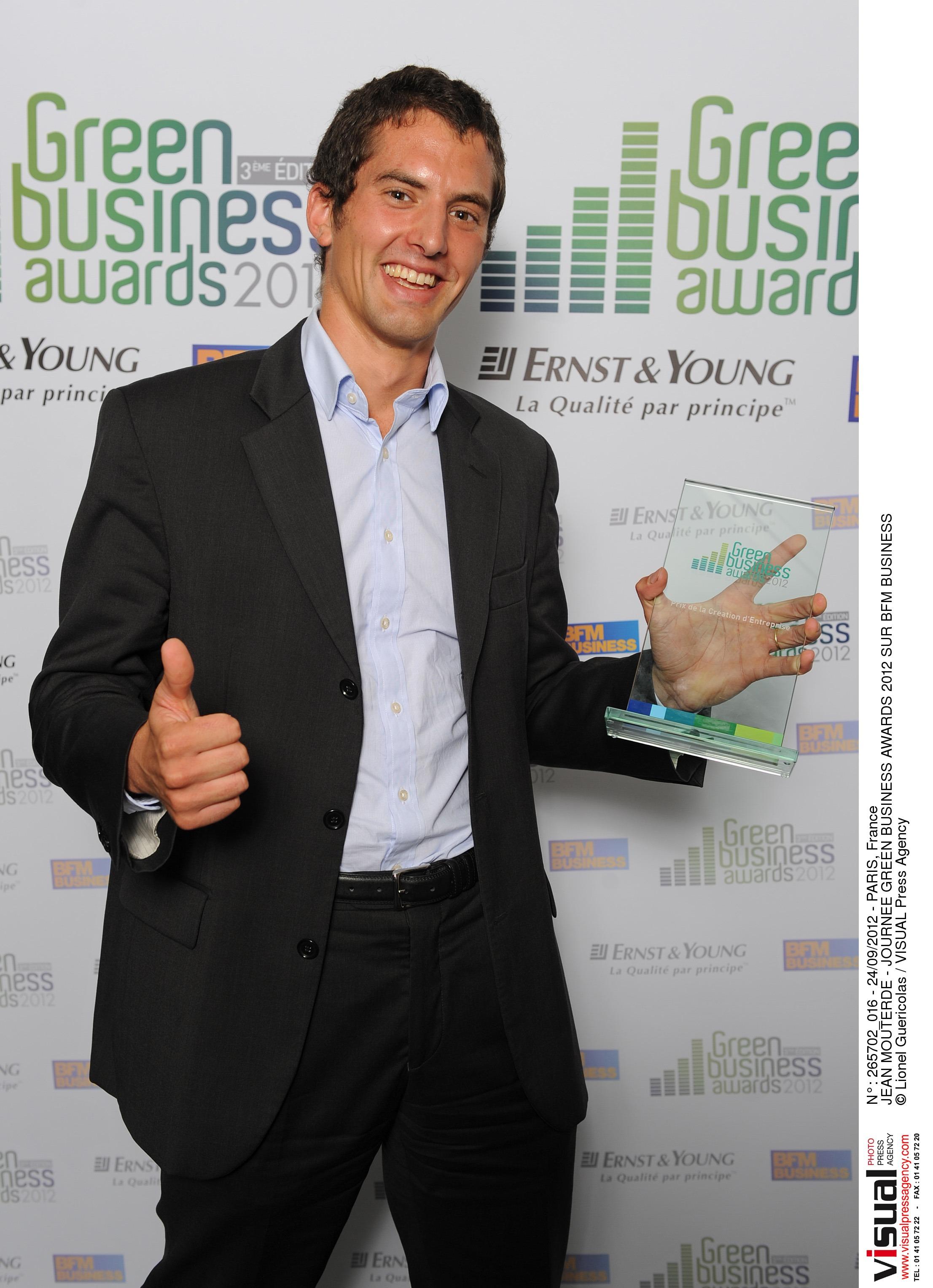 Remise Prix aux Green Business Awards de BFM Business