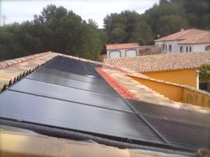 Panneaux DualSun en intégration toiture à Alleins (84)
