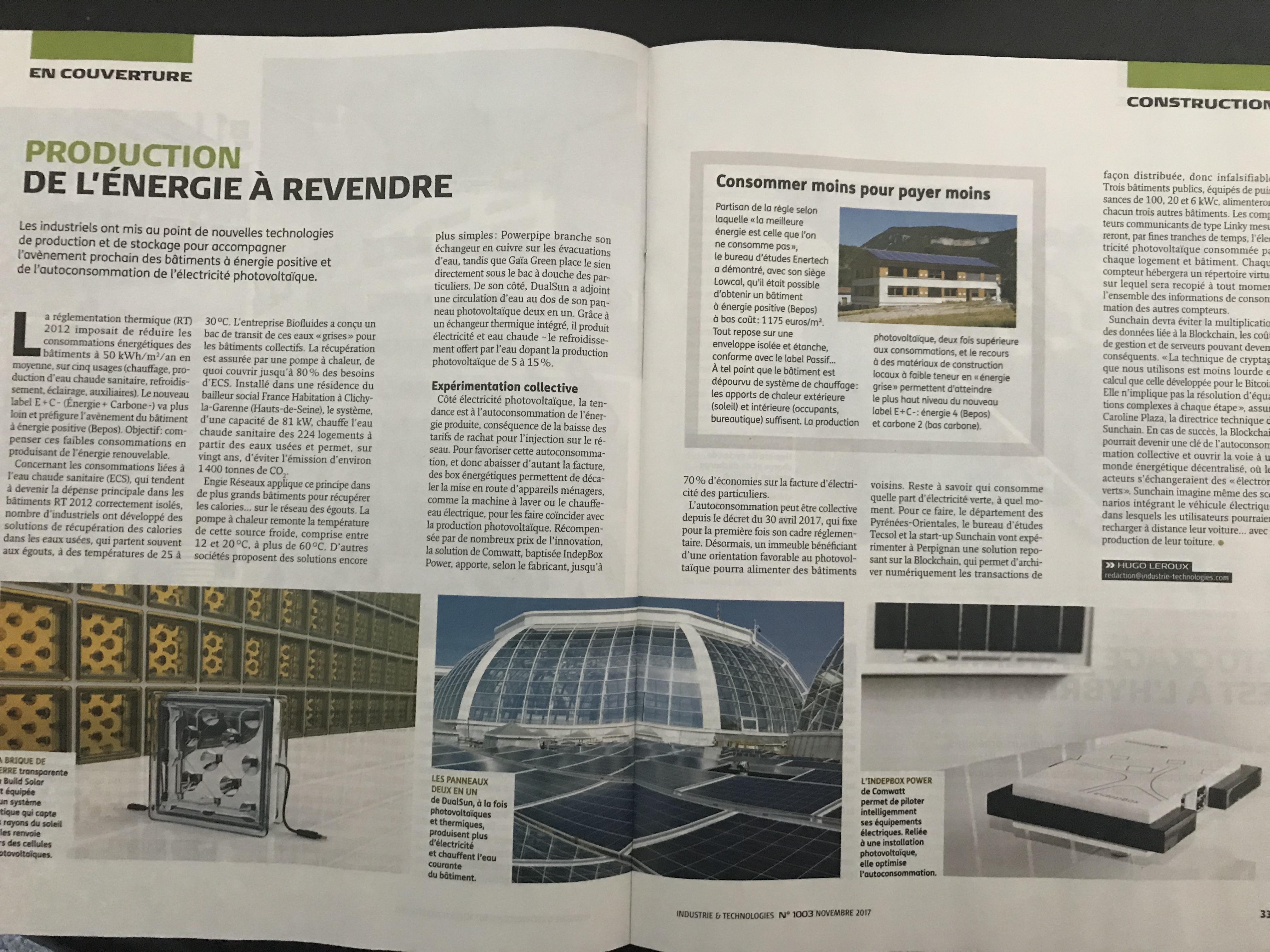 Industrie et technologie Mag